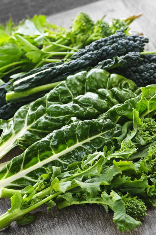 Consider what greens are readily available when planning your recipes.