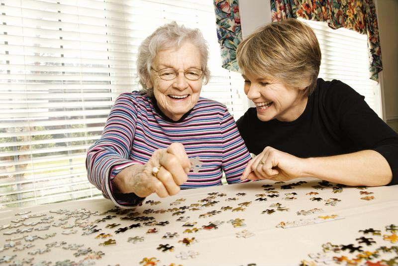 Seniors with Alzheimer's can lead a happy life with certain safety precautions in place.