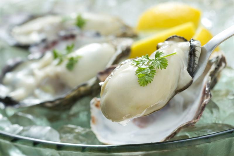 Enjoy an array of seafood dishes at Cliff Bell's.
