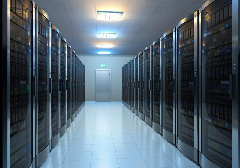Even on-premise, digital storage requires devoting a room to servers and other hardware_Afinety, Inc.