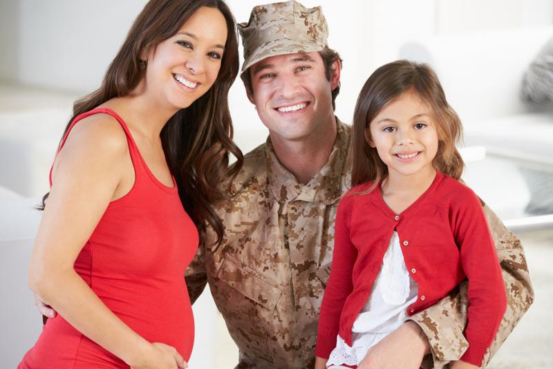 Groups across the country have set up programs to help military children.