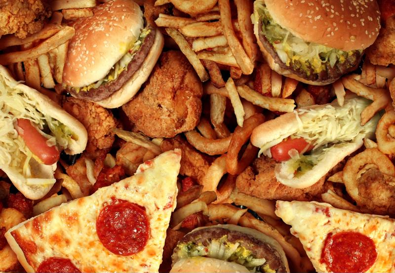 Many fast-food packaging samples have been found to contain perfluorinated chemicals.