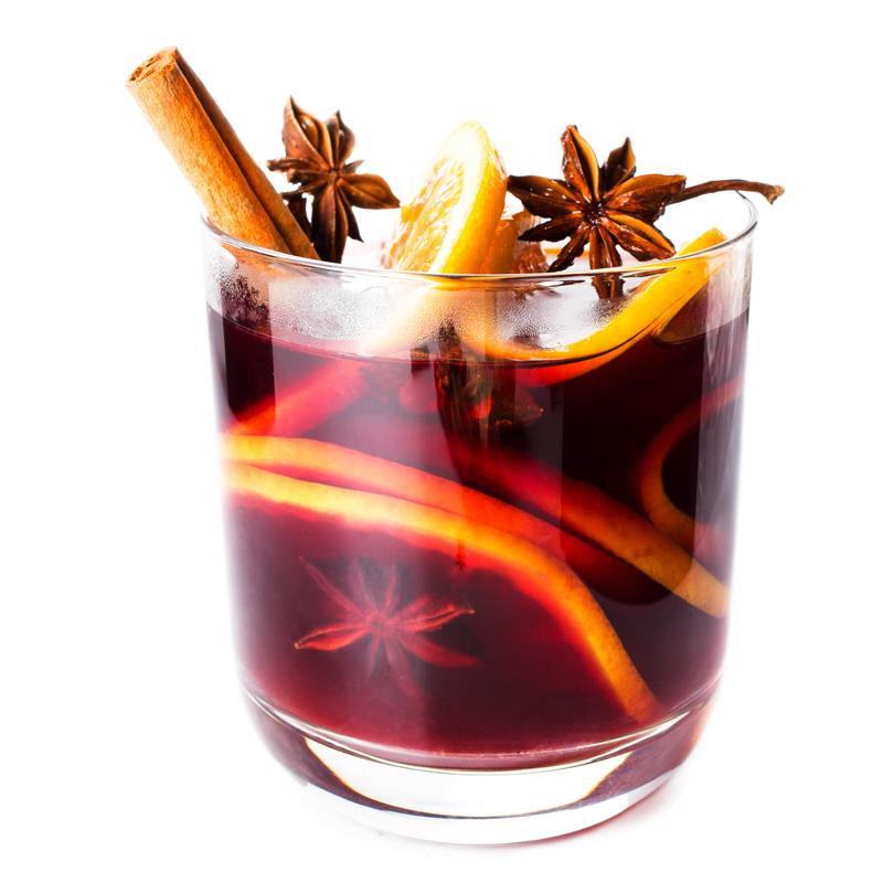 Everyone loves a warm mulled wine.