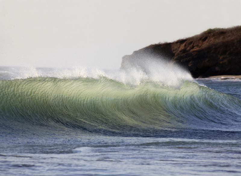 Large ocean wave.