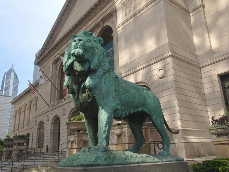 The Art Institute of Chicago houses some of the most famous American masterpieces.