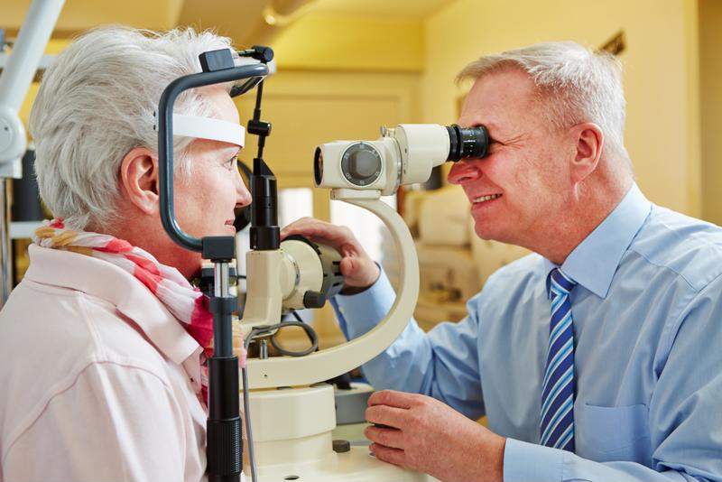 Consider taking your loved one to the eye doctor.