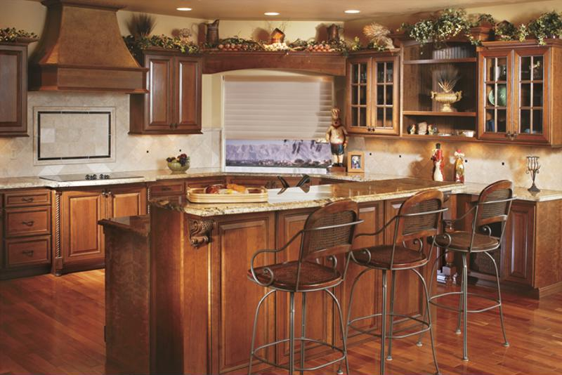 A beautifully appointed kitchen