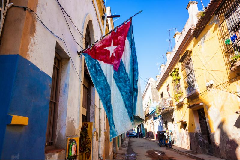 Explore the bustling and colourful streets of Cuba.