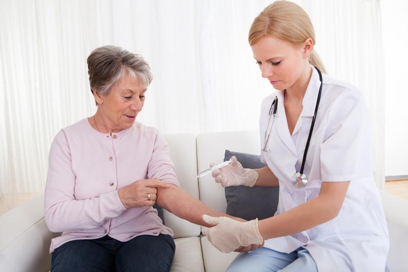 Vaccinations help seniors avoid illnesses such as the flu and pneumonia.