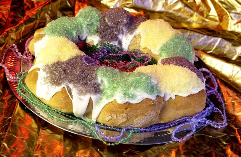 Make a king cake this Mardi Gras.