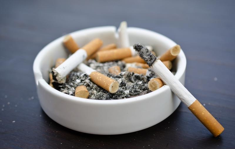 While smoking is the No. 1 cause of lung cancer, there are other external causes as well.