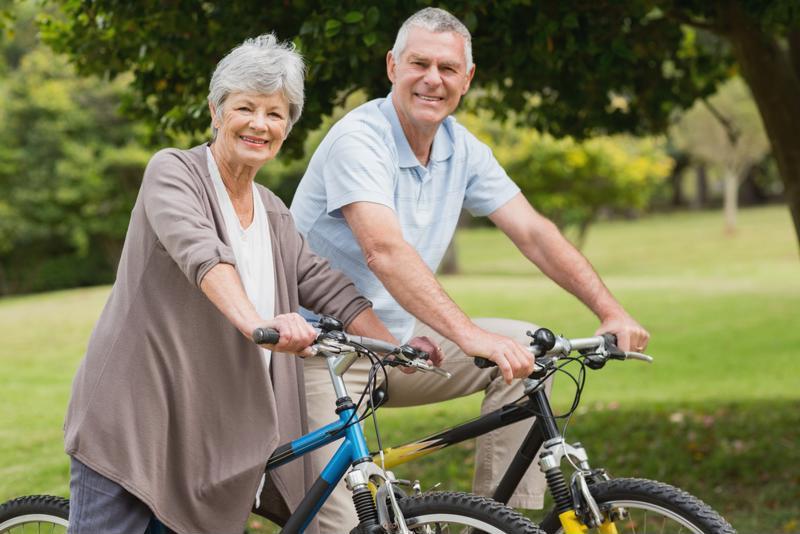 Biking improves lung capacity and muscular endurance.