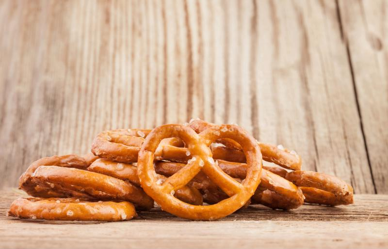 Slow-cooked with taco seasoning, these pretzels give some real heat and zest.