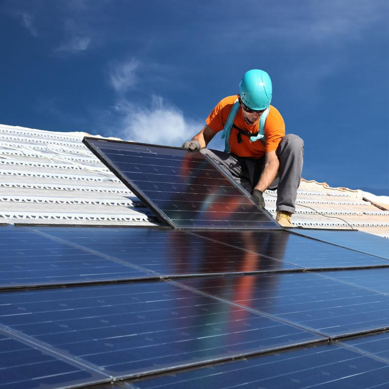 The field of solar installation is projected to have the highest job growth of any career within the next 10 years.