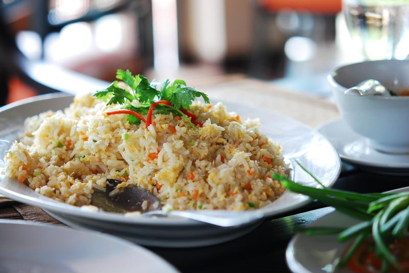 With a few leftover ingredients, you can make a delicious slow-cooked fried rice right at home.