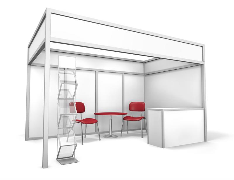 Consider using recycled materials to design your next trade show booth.
