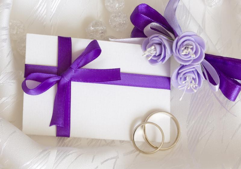 Purple, particularly sharper purples, are commonly associated with celebrations.