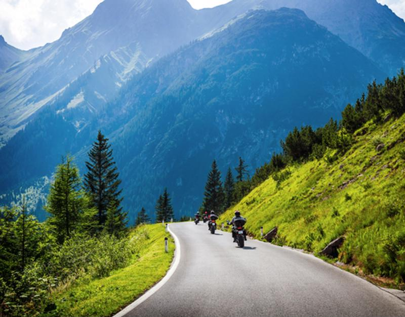 The men rode through 15 different countries and two continents.