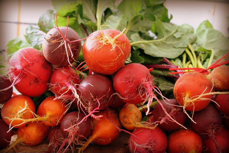 Beets are one of several alkalizing plant sourced foods.