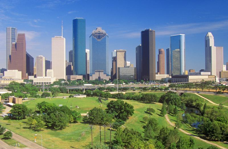 Houston is Texas' most-populated city, home to well over 2 million residents.