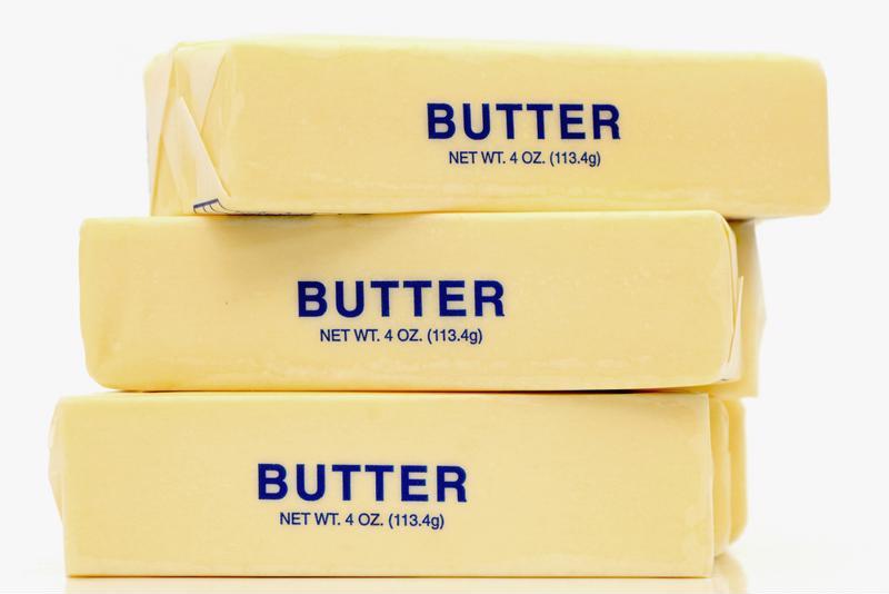 Three sticks of butter.