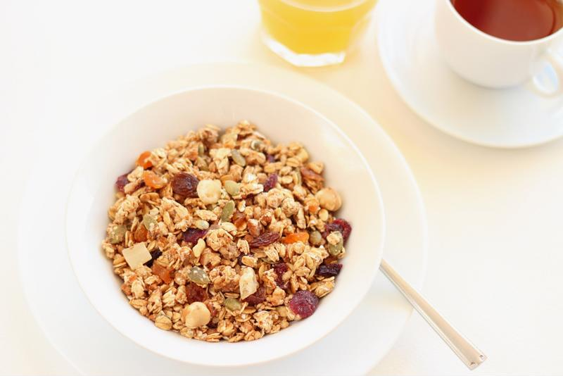 With pumpkin, spices and hazelnut flavors, this granola can be enjoyed as cereal or on its own.