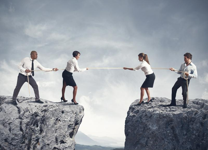 Four kinds of tension affect companies' strategic progress.