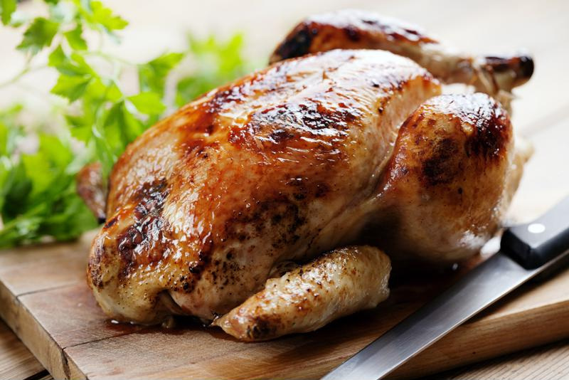 This roasted chicken makes the perfect dish for a family gathering.
