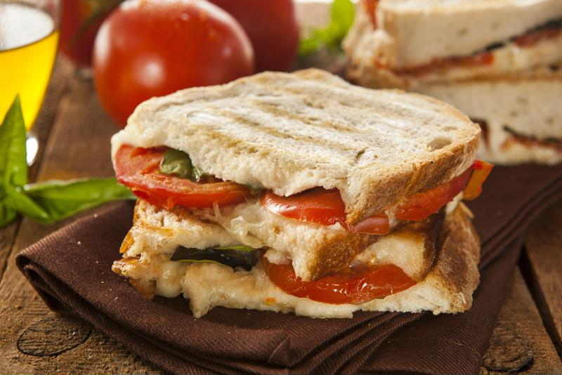 Make a mouth-watering panini right in your own kitchen.
