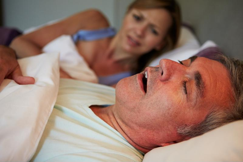 An individual with sleep apnea may not always wake up to the pauses in breathing - though his or her partner may.