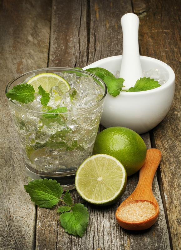 Mint and lime are more important for your mojito than soda and sugar.
