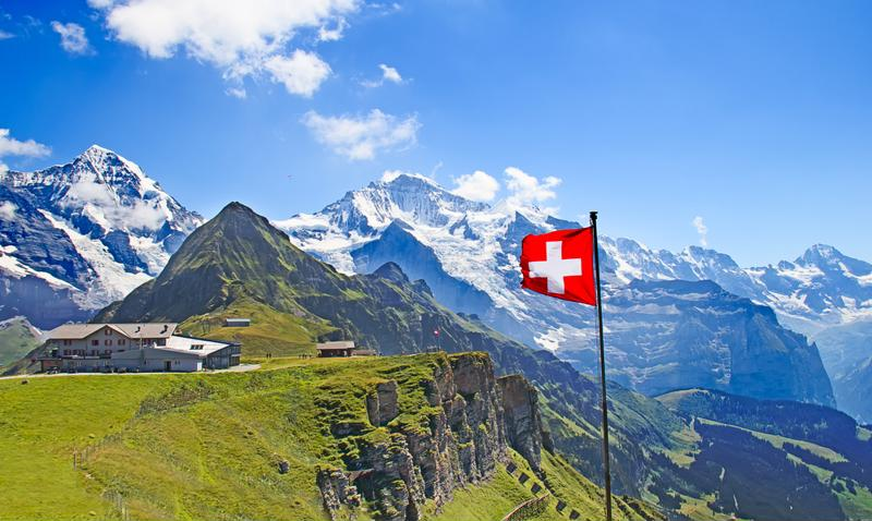 Explore the great outdoors during your trip to Switzerland.