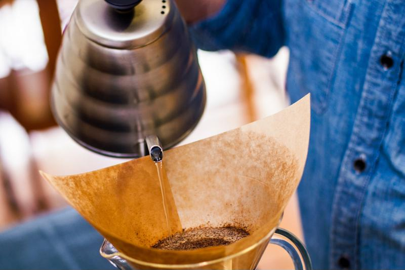 Pourover coffee is becoming popular once again.