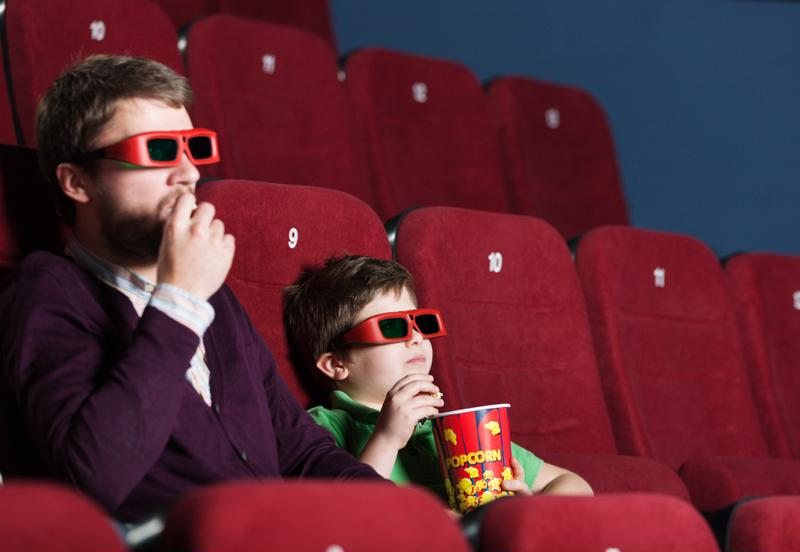Reward your staff by giving them the opportunity to take their kids to the movies.