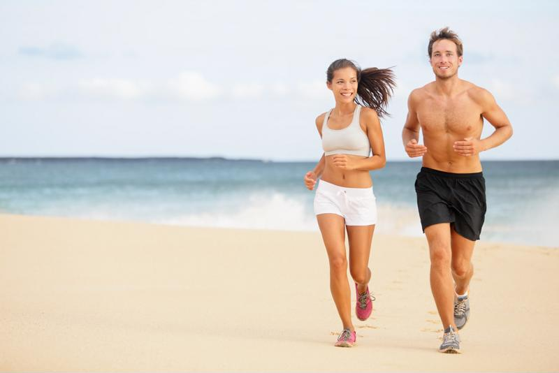 Dress the part and wear sunscreen for your summer workout.