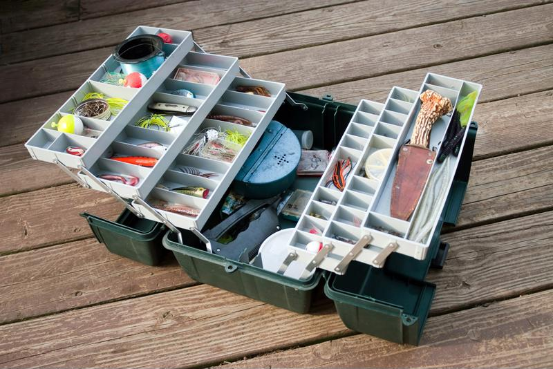 Keeping your bait separated is crucial for preventing crossing or crushing.