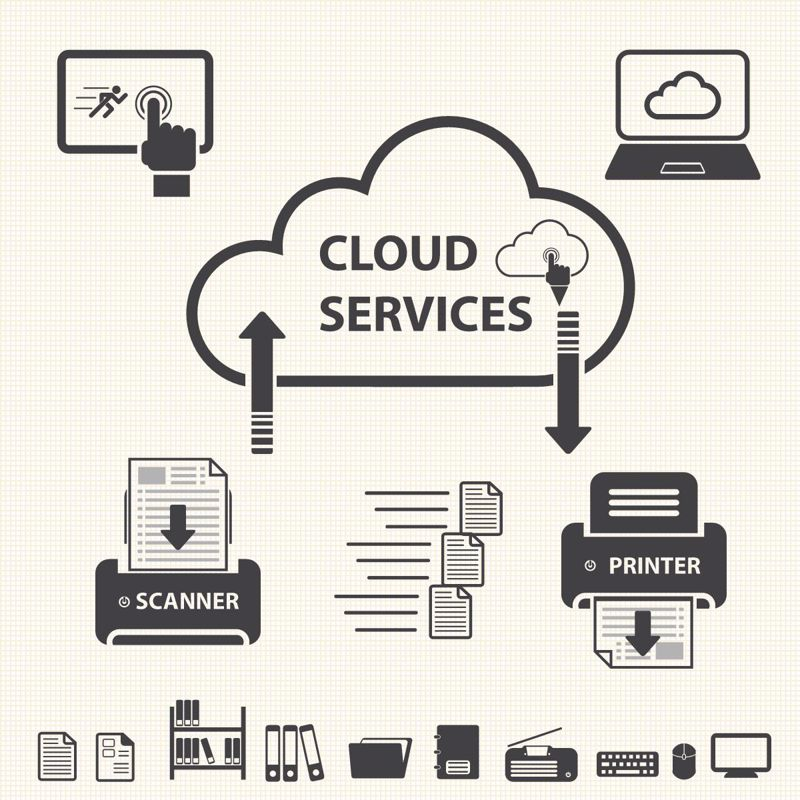 cloud services with multiple connected devices
