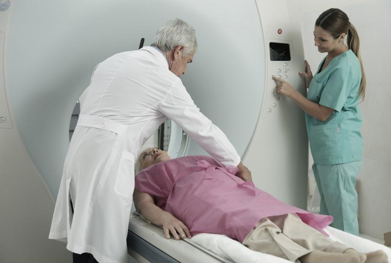 A CT scan represents a time-consuming, expensive procedure.