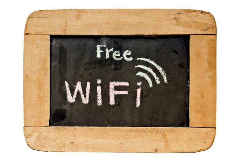These days, free WiFi is a hard thing to pass up.