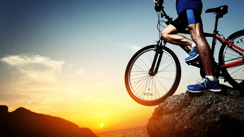 Mountain biking lets you explore areas that are difficult to access.