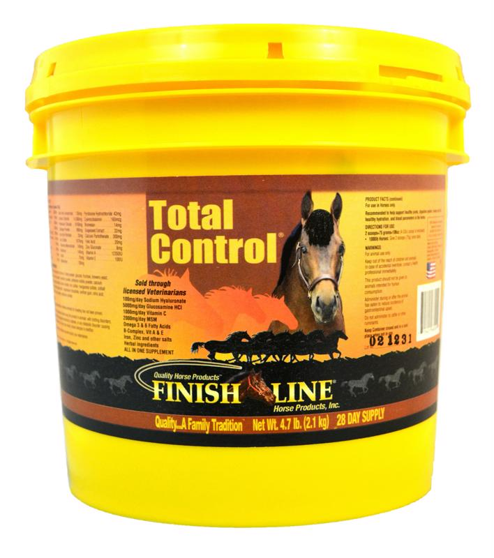 Total Control combines our best products for complete horse health.