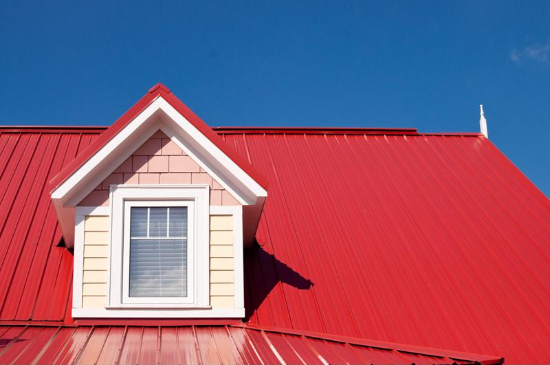 Metal roof also comes in a variety of colors and styles to accommodate your house's design.