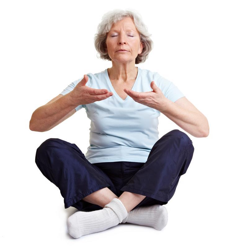 senior, arthritis, arthritic, yoga