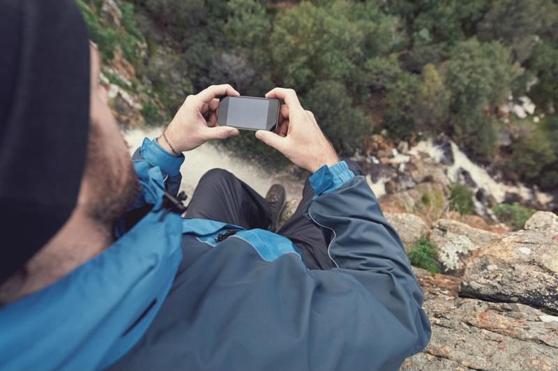 Your phone can be a useful companion when out on the trail.