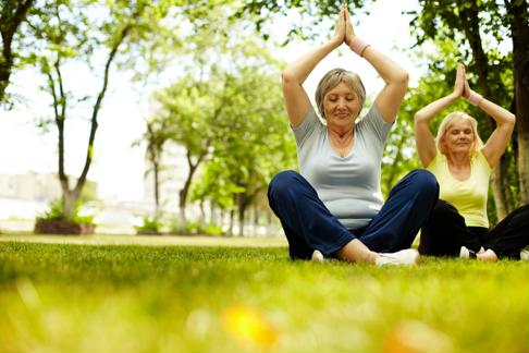 Breathing exercises, medication and physical activity may help seniors battling anxiety disorder.