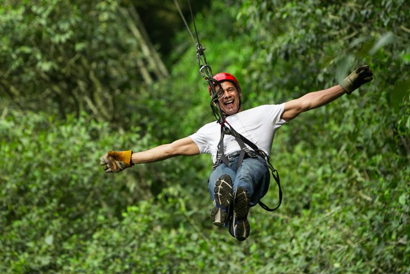 Nothing makes sightseeing more exciting than a zip line tour!