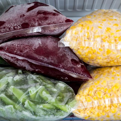 Freeze fruits and vegetables to extend the shelf life.