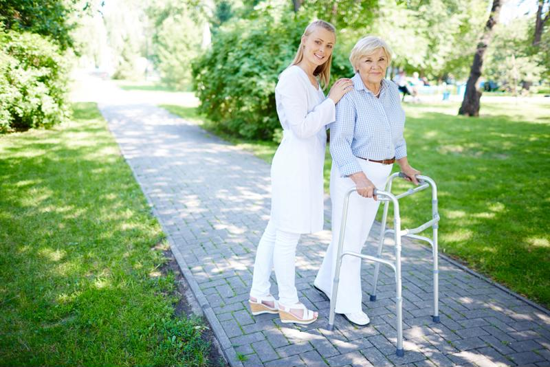 Senior living communities provide assistance whenever necessary.