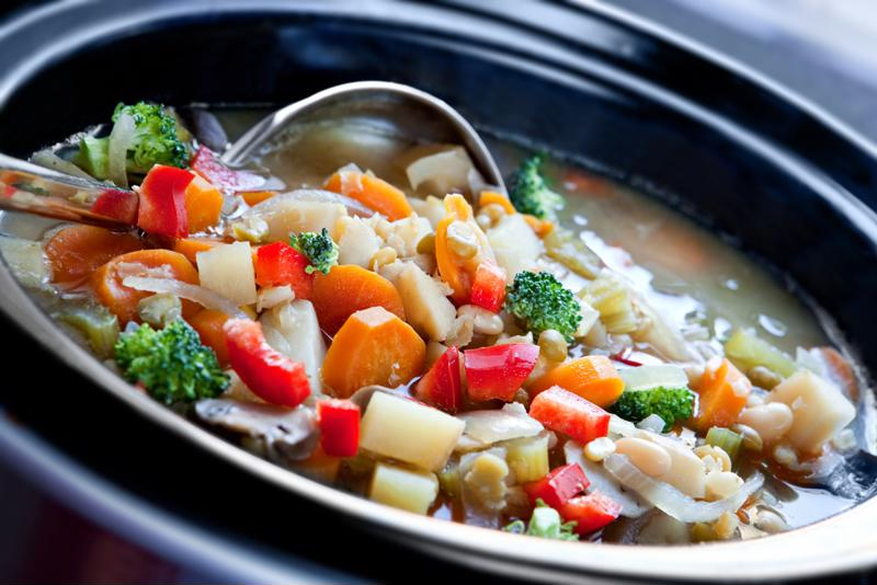 If you want to seal a slow cooker stew for later, grab a Foodsaver bag.