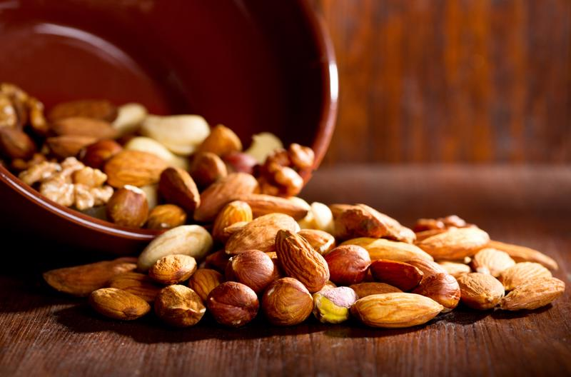 Almonds and peanuts are great sources of zinc.